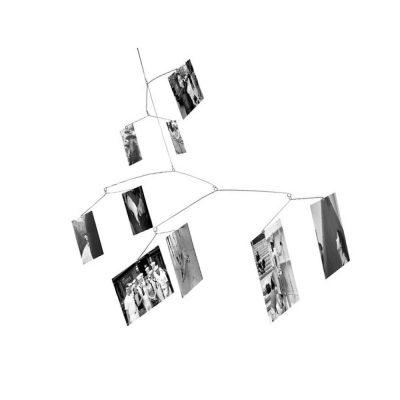Держатель для фото подвесной «Ветвь» на 9 снимков