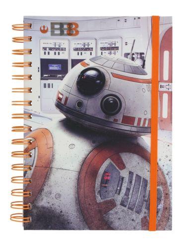 Блокнот Star Wars The Last Jedi (BB-8)