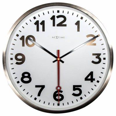 Часы настенные «Super Station Number» Ø55 см