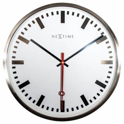 Часы настенные «Super Station Stripe» Ø55 см