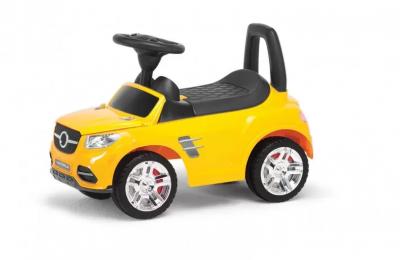 Детская машина-толокар Colorplast (желтый)