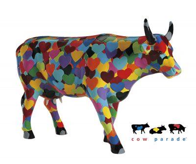 Коллекционная статуэтка корова «Heartstanding Cow», Size L