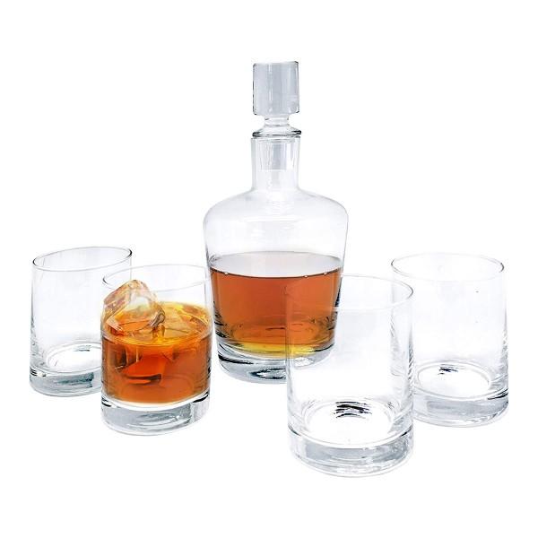 Набор для виски, графин и 4 стакана