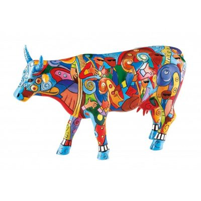 Коллекционная статуэтка корова «Music Cow Extravaganza», Size L