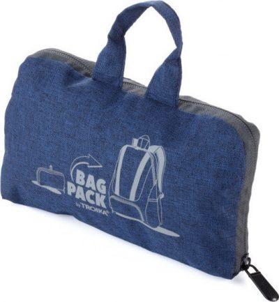 Рюкзак складной BAGPACK синий