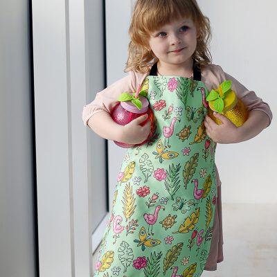 Фартух полноцветный детский «Фламінго»