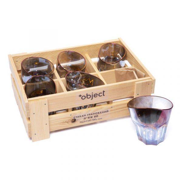 Набор пьяных стаканов для виски «Торжество»