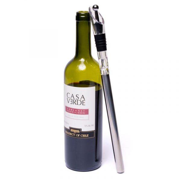 Чиллер охладитель - аэратор для вина в подарочной коробке Decanto