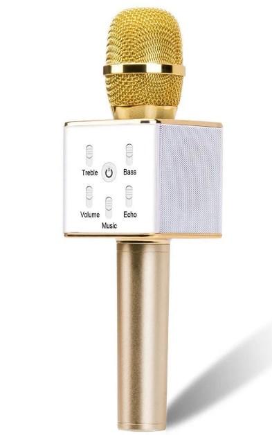 Беспроводной караокемикрофонс колонкой Q7