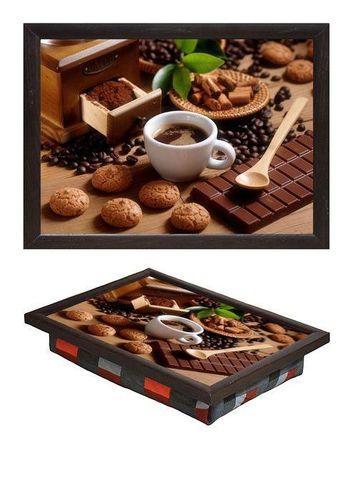 Поднос мини на подушке «шоколад и печенье»