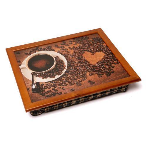 Поднос на подушке «Кофе и сердце», 44*36 см