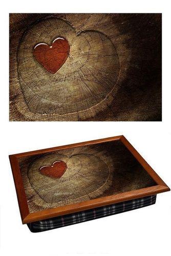 Поднос на подушке «Сердце на дереве», 44*36 см