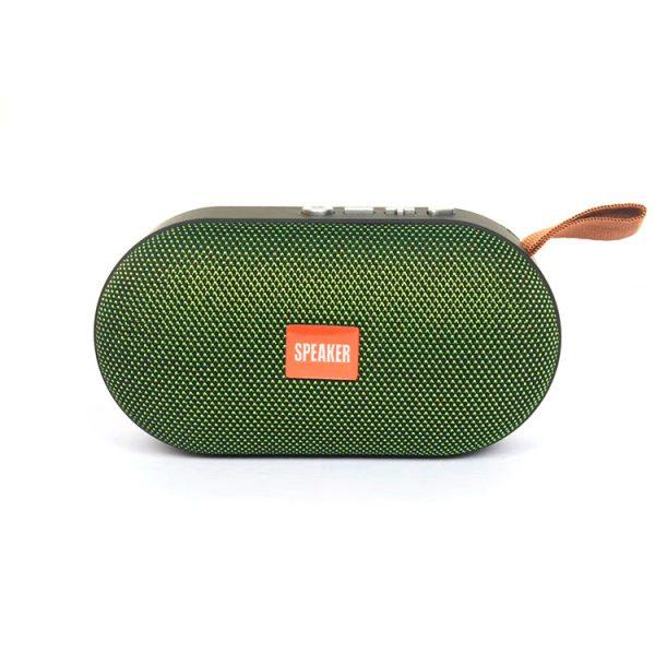 Портативная колонка Т-7 с Bluetooth и слотом для Micro SD (Зелёный)