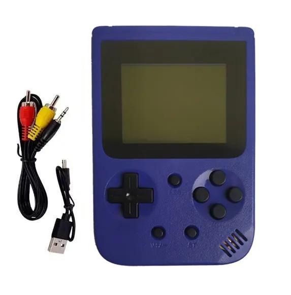 Портативная игровая консоль-приставка METR+(JP-03/синяя)