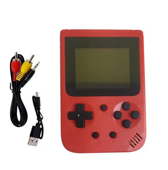 Портативная игровая консоль-приставка METR+(JP-03/красная)