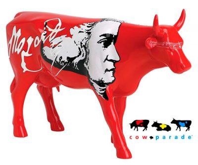 Коллекционная статуэтка корова «Moozart», Size L
