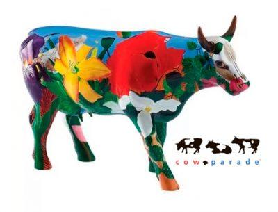 Коллекционная статуэтка корова «Georgia O'Cowffe», Size L