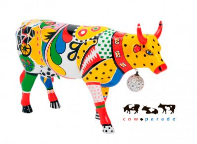 Коллекционная статуэтка корова «Kick», Size L