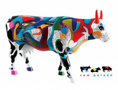 Коллекционная статуэтка корова «Ziv's Udderly Cool Cow», Size L