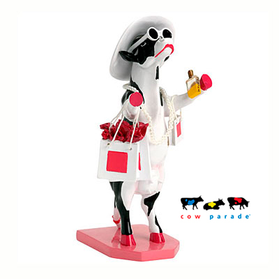 Коллекционная статуэтка корова «Alphadite Goddess of Shopping», Size M
