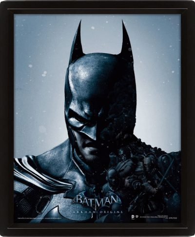 3D Постер Batman Arkham Origins (Batman /Joker) / Бэтмен
