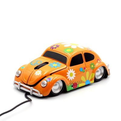 Компьютерная мышь «Flower» оранжевая