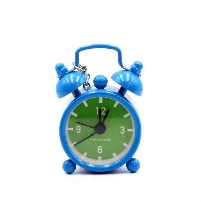 Часы-брелок Мини будильник синий