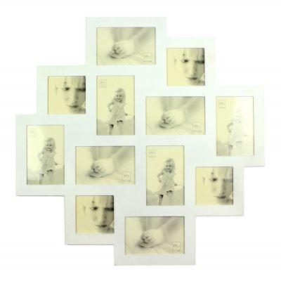 Фоторамка «Звездный коллаж» на 12 фото, белый
