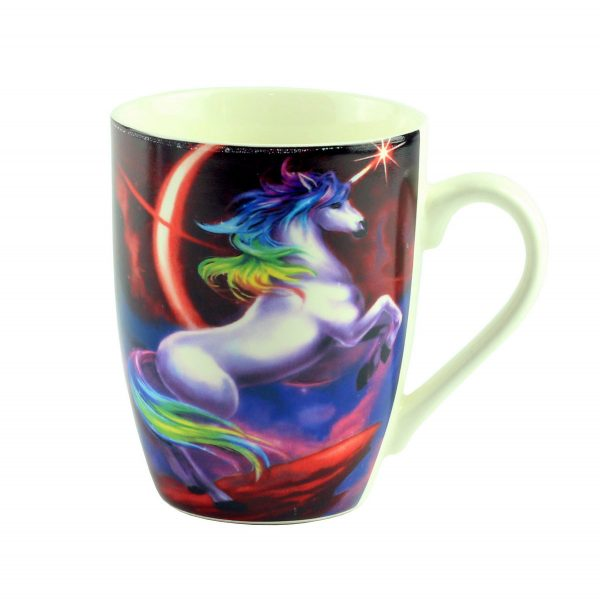 "Чашка ""Mug unicorn Desing"", темно-красная"