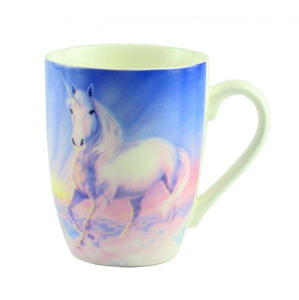 """Чашка """"Mug unicorn Desing"""", голубая"""