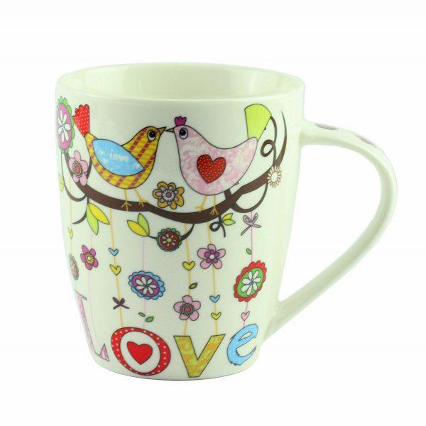 "Чашка ""Mug bird love Porcelain Love"", 10 см"