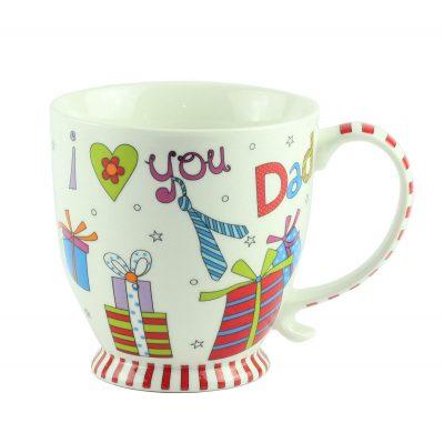 """Чашка """"I love Dad"""", 10см"""