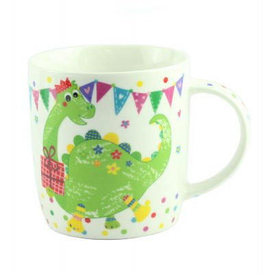 """Чашка  """"CHILDREN ANIMALS"""" динозавр, фарфор"""