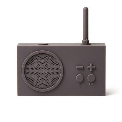 Bluetooth колонка с радио Lexon Tykho 3, серая