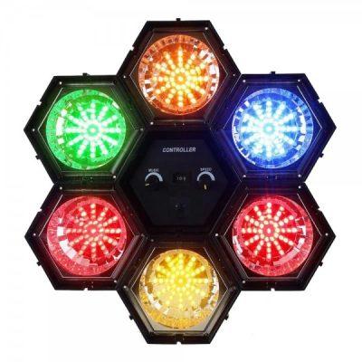 LED подсветка с 6 модулей