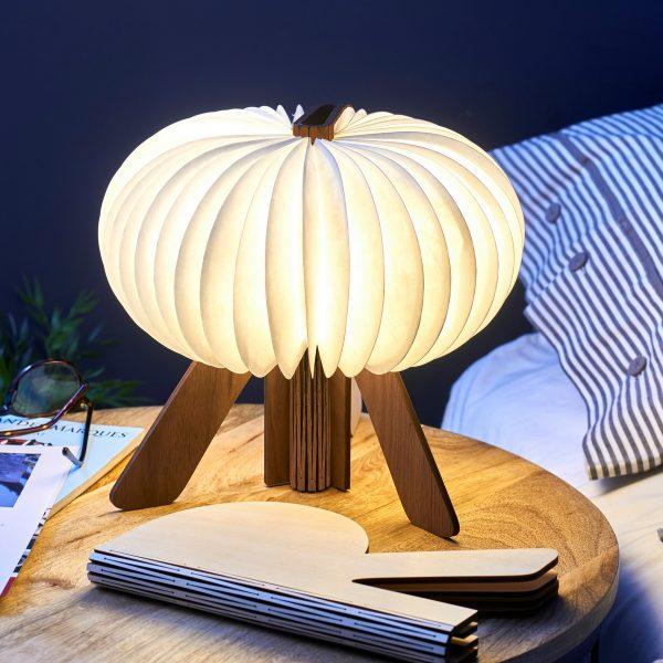 Светильник Gingko R Space Lamp орех