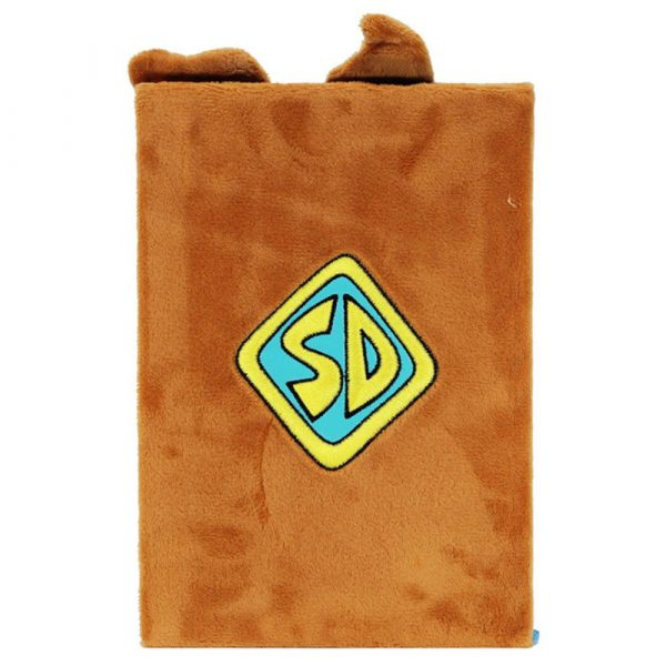 Блокнот A5 Scooby Doo, пушистая обложка