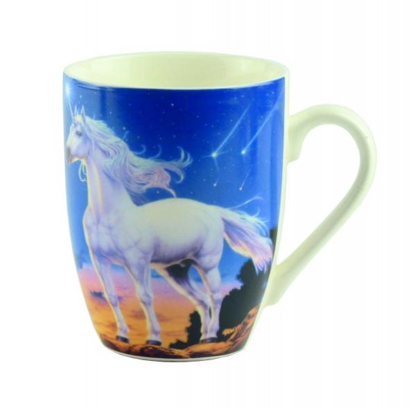 "Чашка ""Mug unicorn Desing"", синяя"