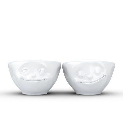 Набор Tassen из двух фарфоровых пиал «Мечтатель и Счастье» (100 мл)