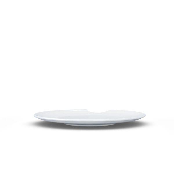 Набор из двух десертных надкушенных тарелок Tassen, 15 см, фарфор