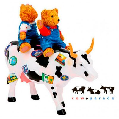 Коллекционная статуэтка корова «Teddy Bears on the Moove», Size M