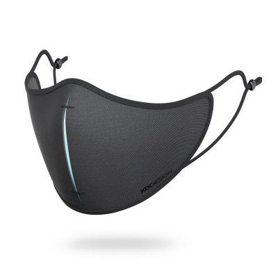 Маска антивирусная N95 XD-Design с 5-ю фильтрами и чехлом, черная