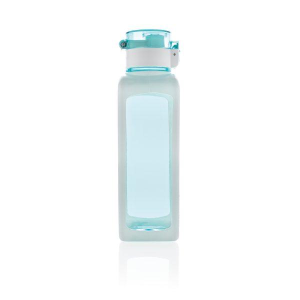 Квадратная вакуумная бутылка для воды 600мл, бирюзовая