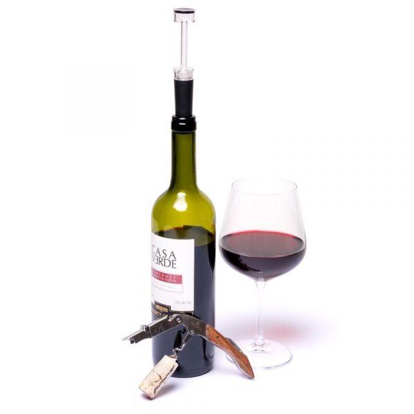 Набор штопор сомелье для вина и пробка Decanto