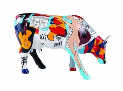 Коллекционная статуэтка корова «Picowso's School for the Art», Size L