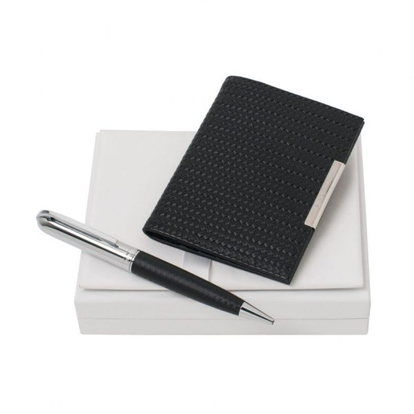 Набор Sierra Black (шариковая ручка и визитница) Nina Ricci
