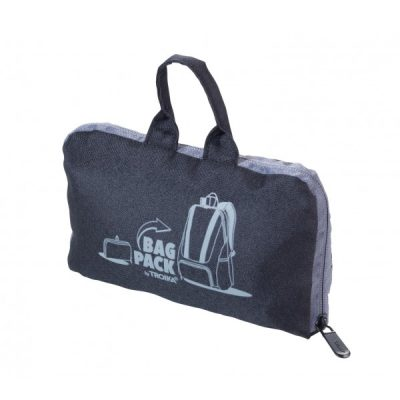 Рюкзак складной BAGPACK чёрный