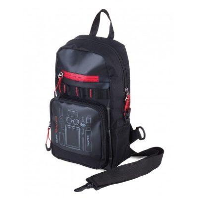 Рюкзак через плечо CROSS BAG чёрный