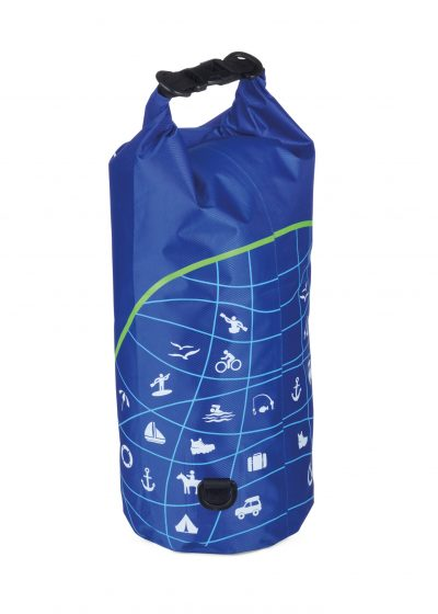Уличная сумка  с защитой от воды (для  водных видов спорта) WATERPROOF BAG синяя