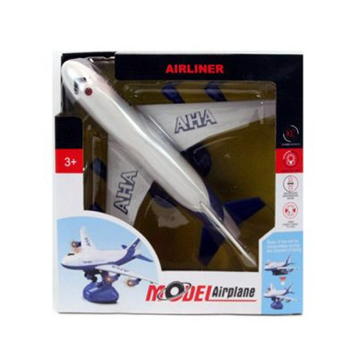 Детский игровой самолет на подставке